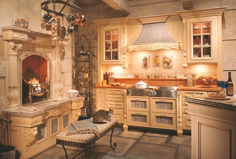 Стиль кухни «под старину»