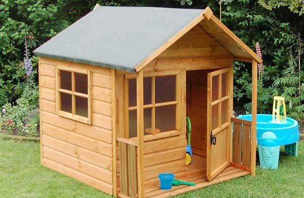 Где заказать детский игровой домик с крыльцом