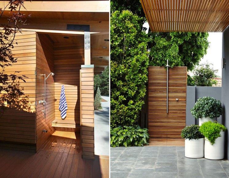 Как выбрать летний душ для дачи