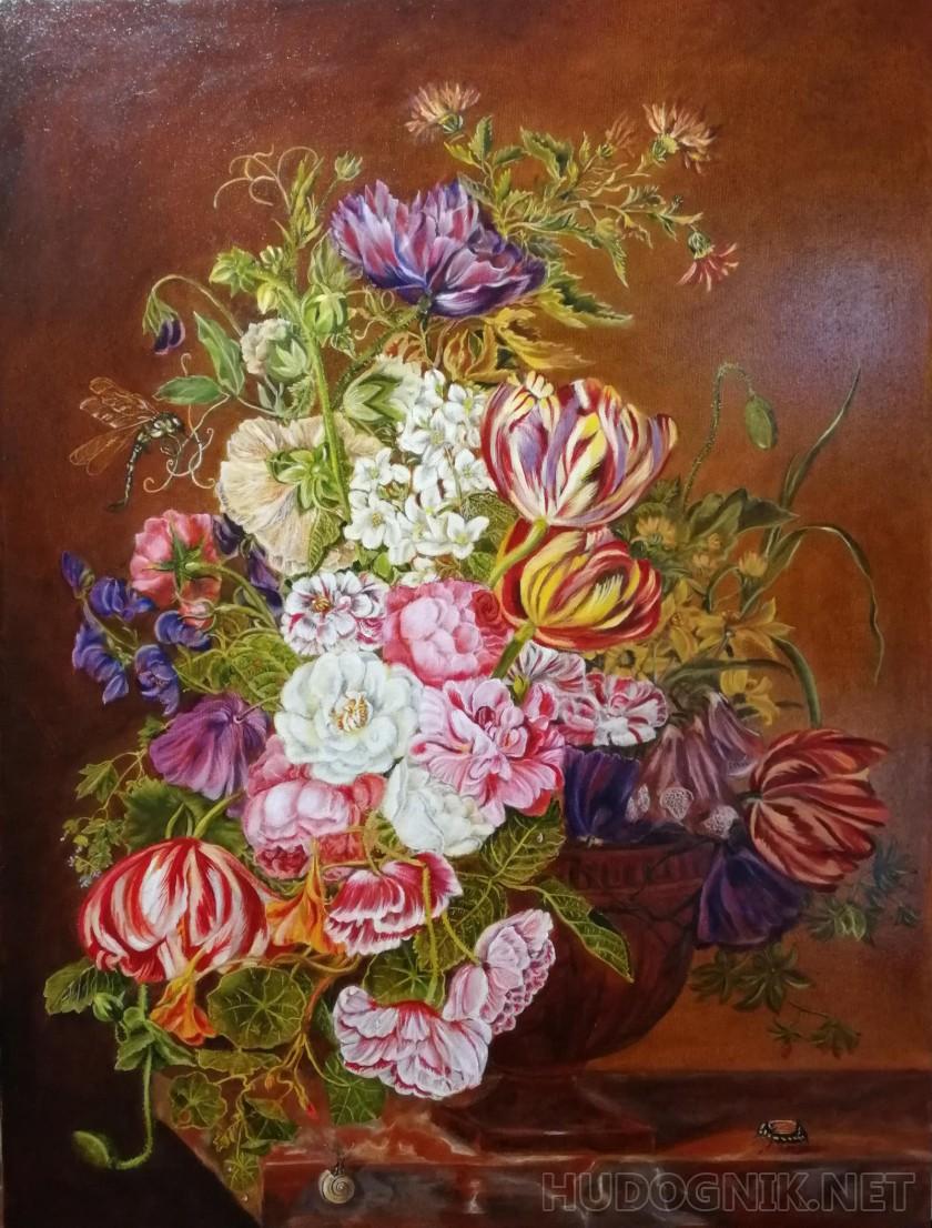 Где приобрести картину с цветами