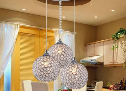 Для освещения каких помещений используются подвесные светильники в форме шара