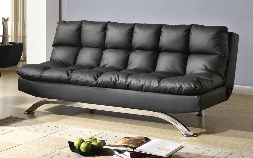 Достоинства и недостатки диванов из экокожи