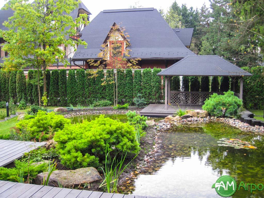 Особенности выполнения ландшафтного дизайна для загородного дома