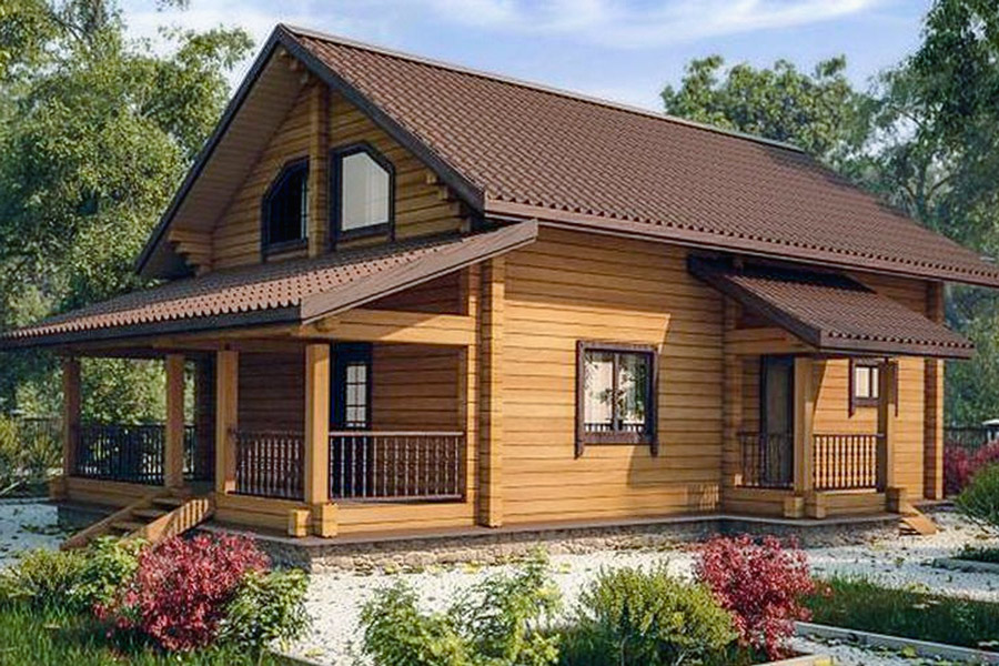 Строительство домов из бруса