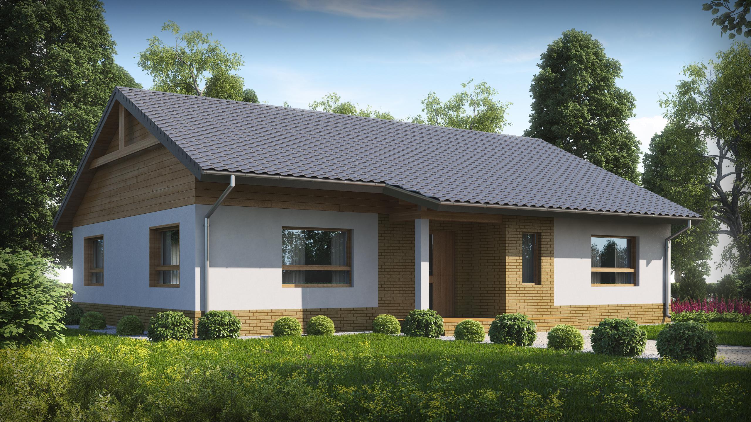 Проекты домов и коттеджей от застройщика Dniprobud